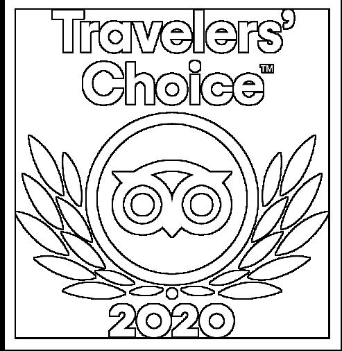 Certificat d'excellent TripAdvisor