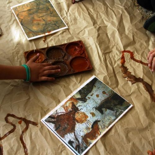 Atelier d'art pariétal périscolaires et scolaires