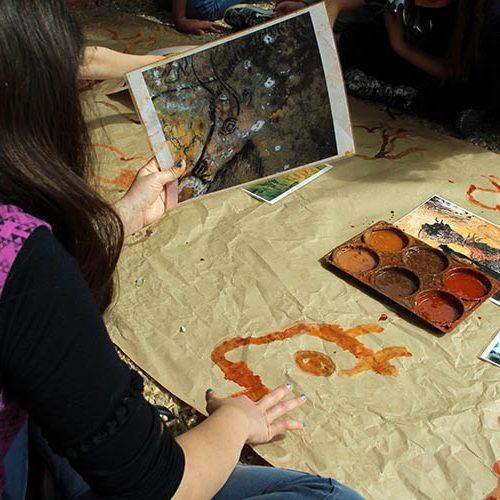 Atelier des artistes : art pariétal