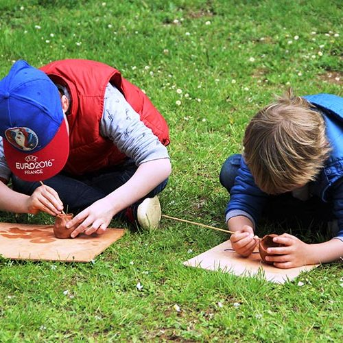 Atelier de poterie néolithique