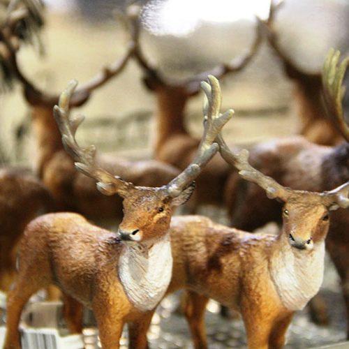 Figures d'animaux préhistoriques