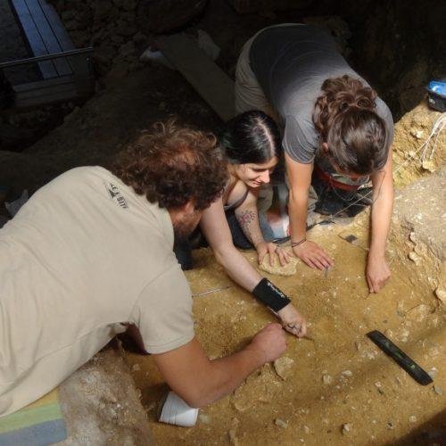 Campagne de fouille 2015 au gisement archéologique