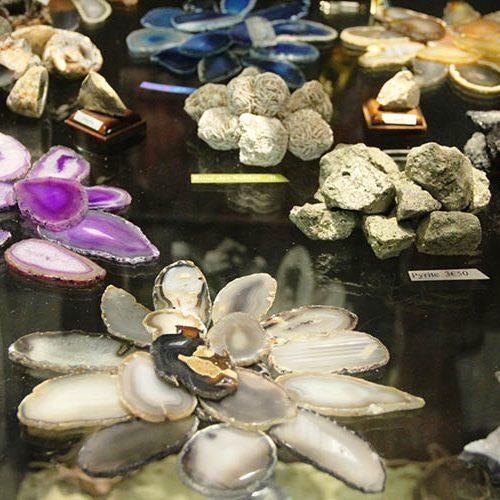 Minéraux de la boutique