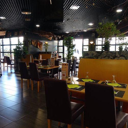 Restaurant la Broche à Pierrot intérieur