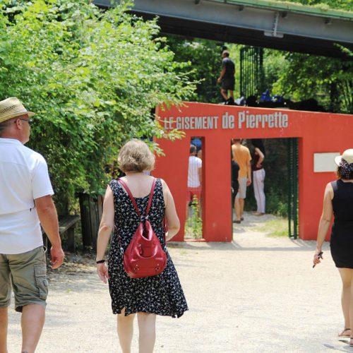 Visite guidée du gisement archéologique de la Roche à Pierrot