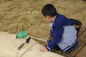 Atelier de fouille archéologique